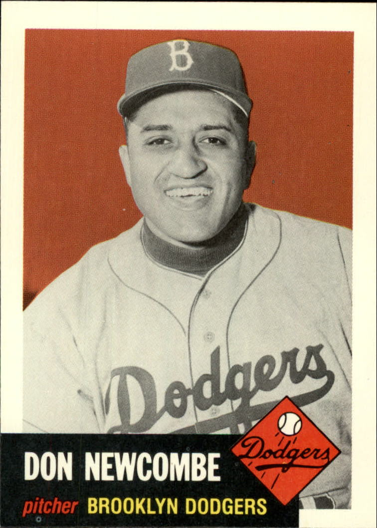 1991 Topps Archives 1953 #320 Don Newcombe front image