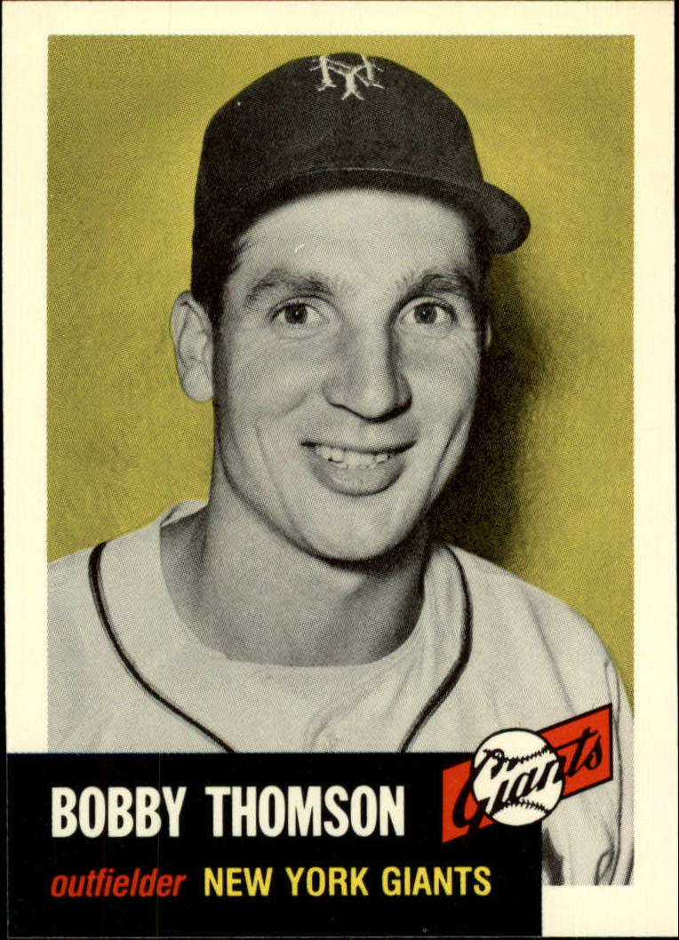 1991 Topps Archives 1953 #330 Bobby Thomson