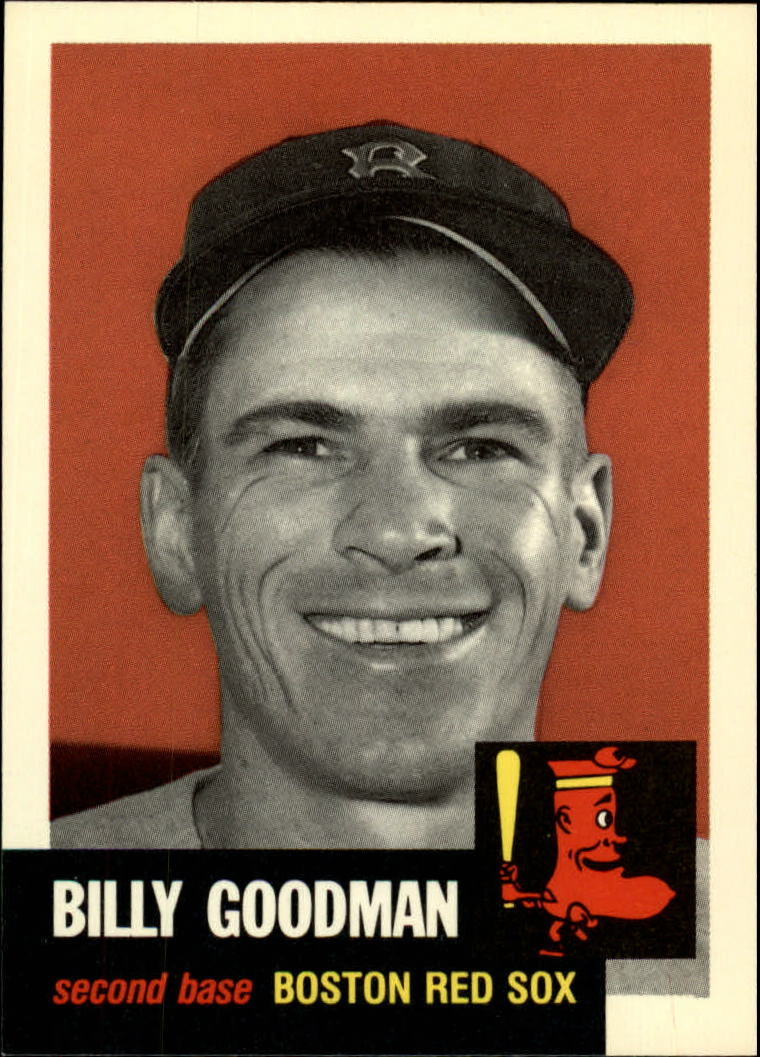 1991 Topps Archives 1953 #334 Billy Goodman front image
