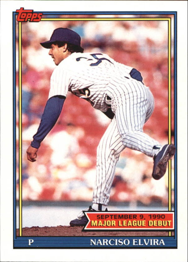1991 Topps Debut '90 #43 Narciso Elvira