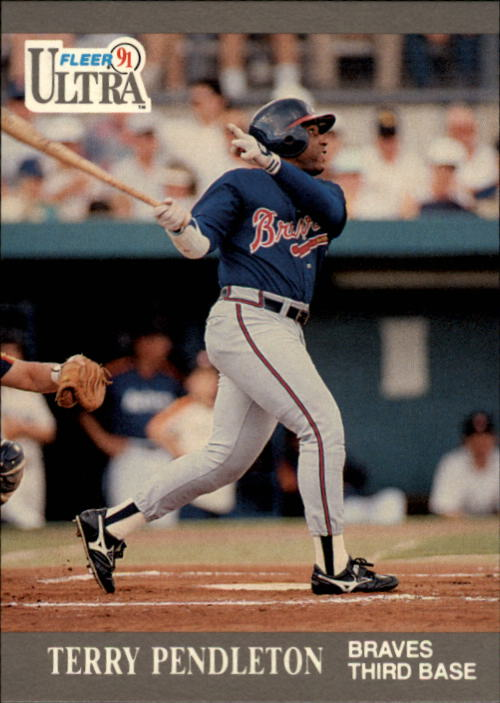 1991 Ultra #10 Terry Pendleton