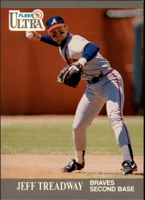 1991 Ultra #13 Jeff Treadway