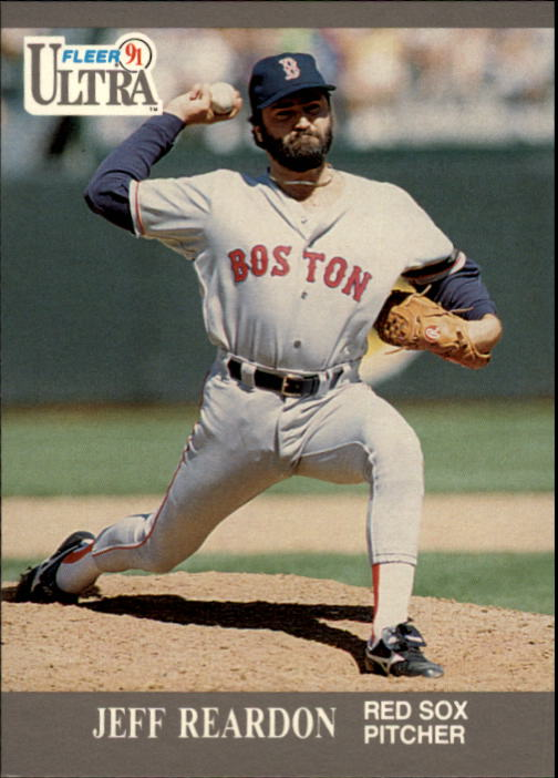 1991 Ultra #40 Jeff Reardon