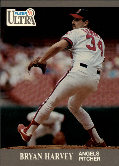 1991 Ultra #45 Bryan Harvey