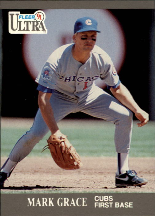 1991 Ultra #61 Mark Grace