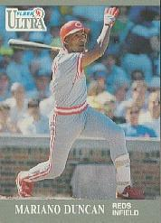 1991 Ultra #94 Mariano Duncan UER/(Right back photo/is Billy Ha