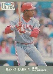 1991 Ultra #96 Barry Larkin