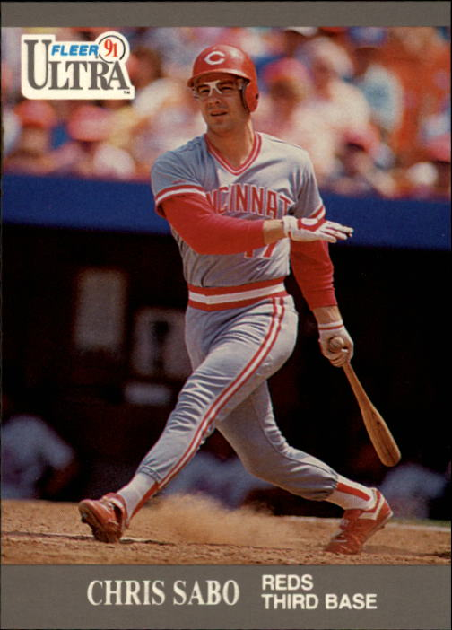 1991 Ultra #103 Chris Sabo/(See also 106)