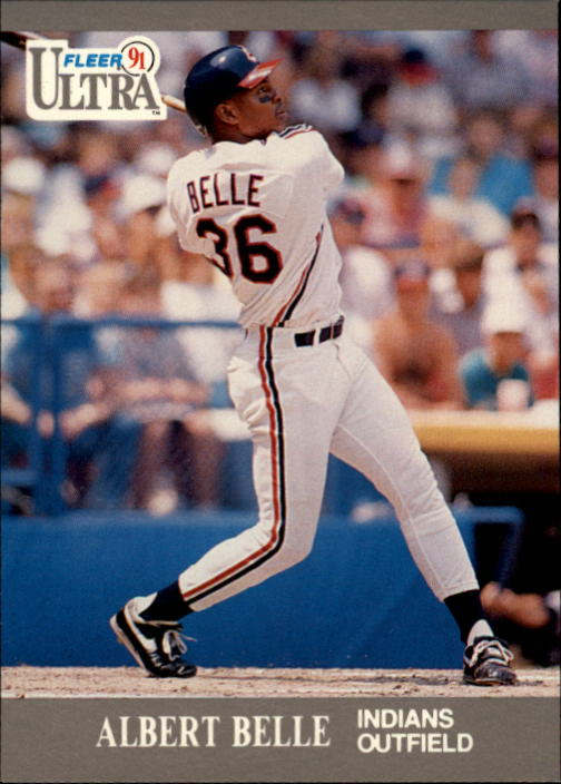 1991 Ultra #107 Albert Belle