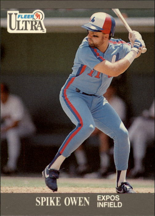1991 Ultra #208 Spike Owen