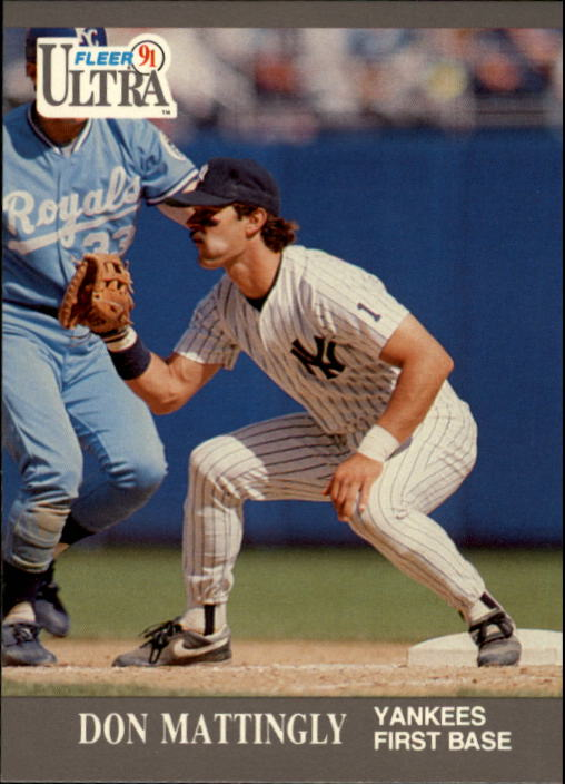 1991 Ultra #239 Don Mattingly