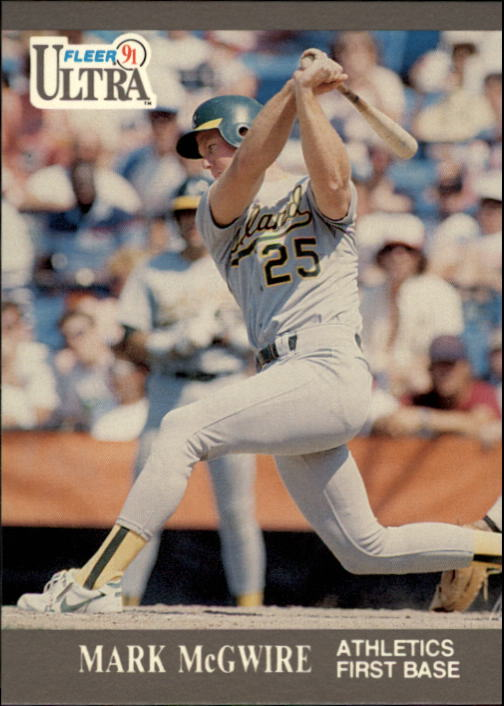1991 Ultra #251 Mark McGwire
