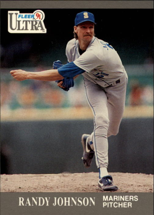 1991 Ultra #339 Randy Johnson