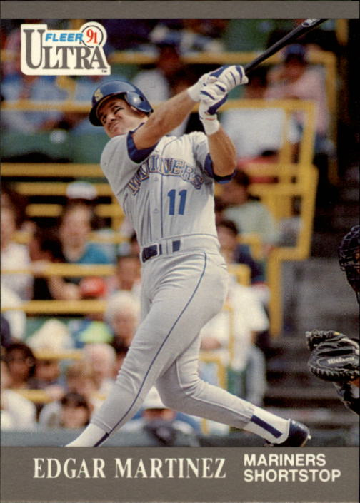 1991 Ultra #340 Edgar Martinez UER