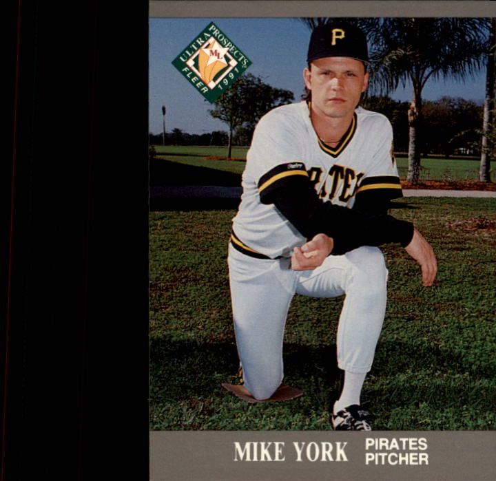 1991 Ultra #389 Mike York MLP RC