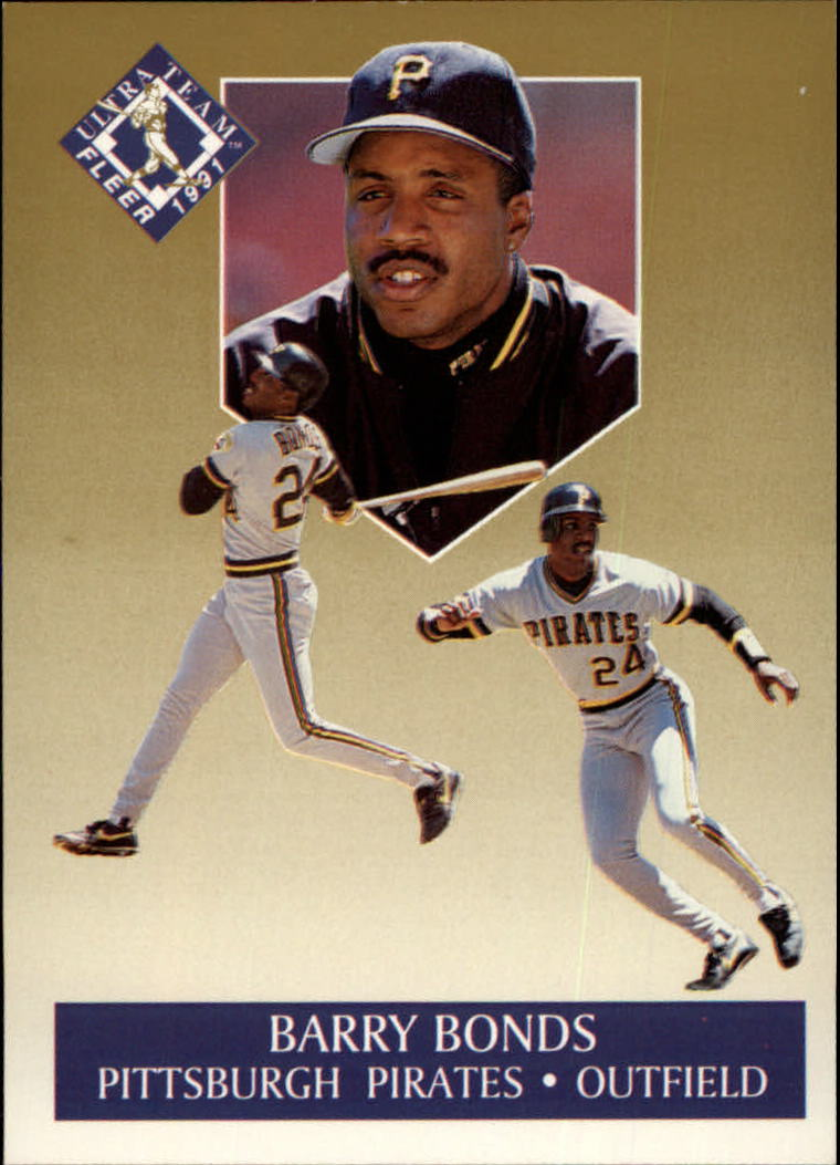 1991 Ultra Gold #1 Barry Bonds