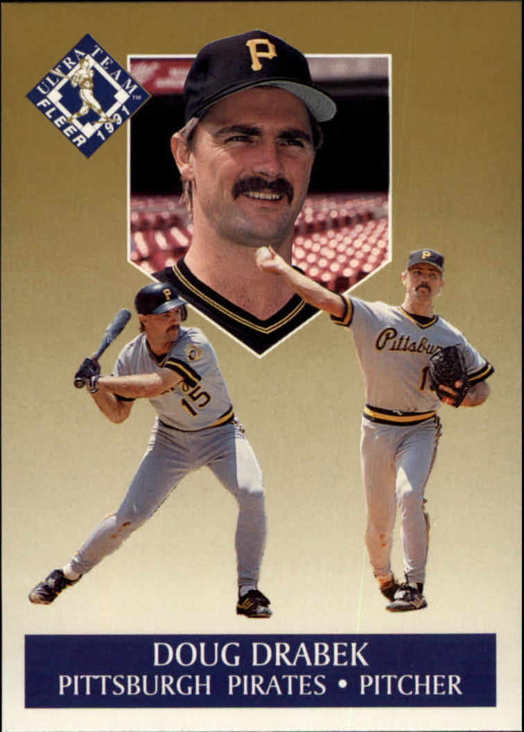 1991 Ultra Gold #3 Doug Drabek