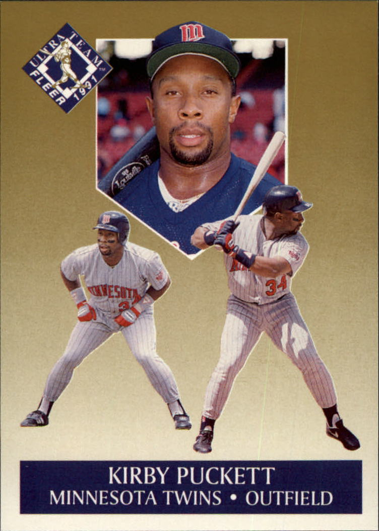 1991 Ultra Gold #8 Kirby Puckett