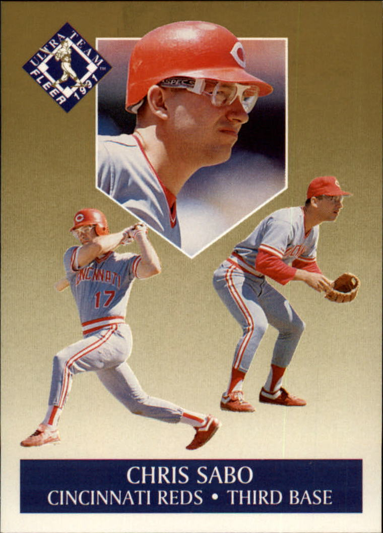 1991 Ultra Gold #9 Chris Sabo