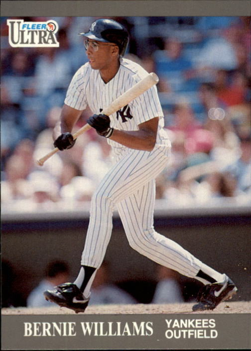 1991 Ultra Update #44 Bernie Williams