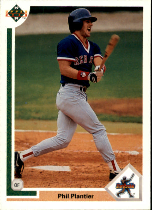 1991 Upper Deck #2 Phil Plantier RC