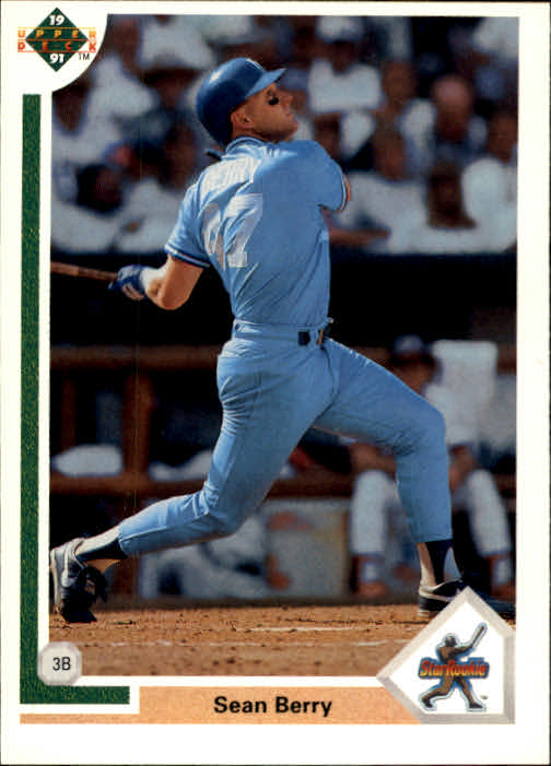 1991 Upper Deck #10 Sean Berry RC