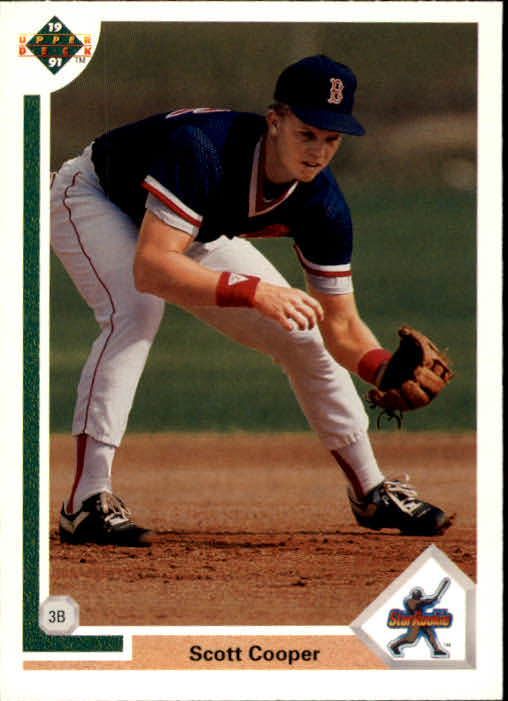 1991 Upper Deck #22 Scott Cooper FUDC