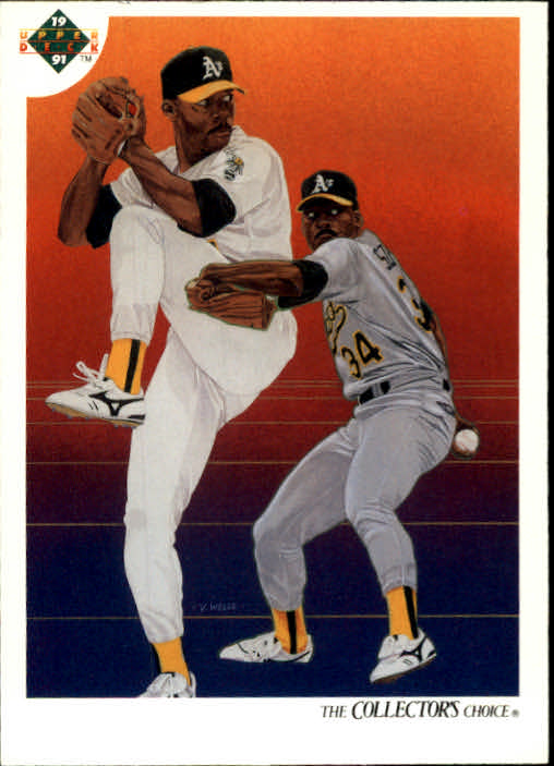 1991 Upper Deck #28 Dave Stewart TC