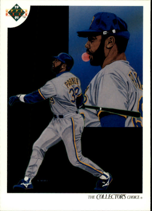 1991 Upper Deck #48 Dave Parker TC