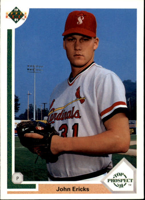 1991 Upper Deck #57 John Ericks