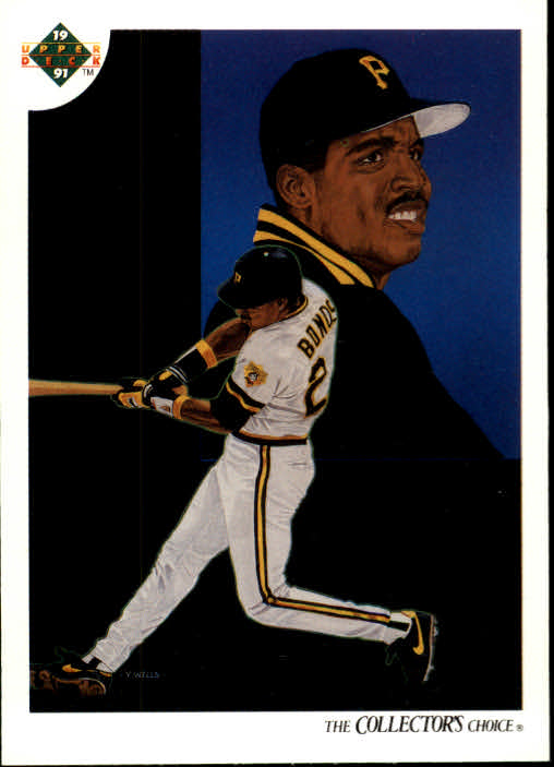 1991 Upper Deck #94 Barry Bonds TC