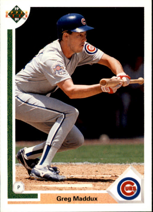 1991 Upper Deck #115 Greg Maddux