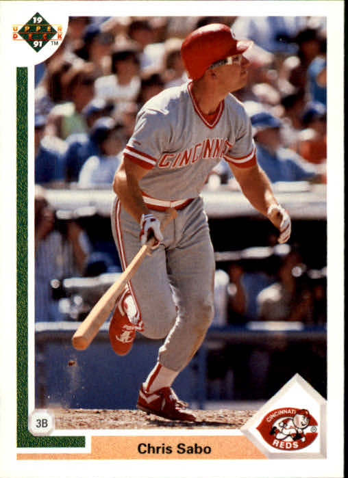 1991 Upper Deck #135 Chris Sabo