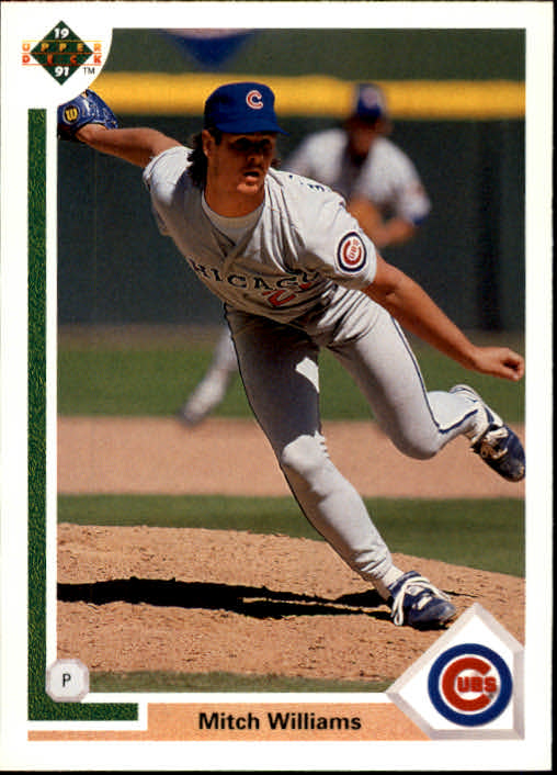 1991 Upper Deck #173 Mitch Williams