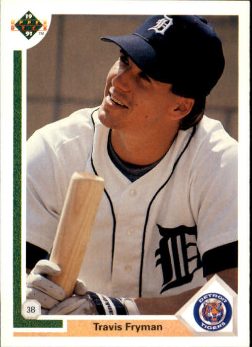 1991 Upper Deck #225 Travis Fryman