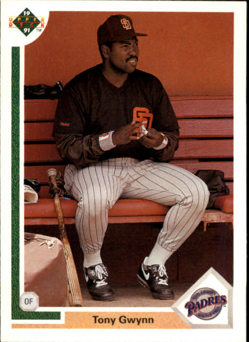 1991 Upper Deck #255 Tony Gwynn