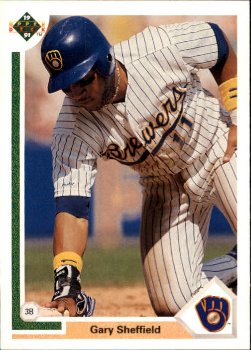 1991 Upper Deck #266 Gary Sheffield