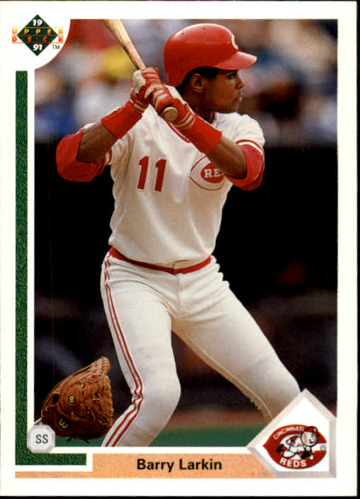 1991 Upper Deck #353 Barry Larkin