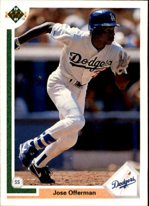 1991 Upper Deck #356 Jose Offerman