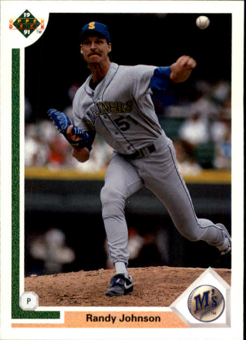 1991 Upper Deck #376 Randy Johnson