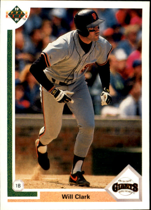 1991 Upper Deck #445 Will Clark