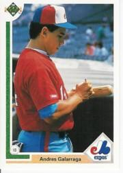 1991 Upper Deck #456 Andres Galarraga