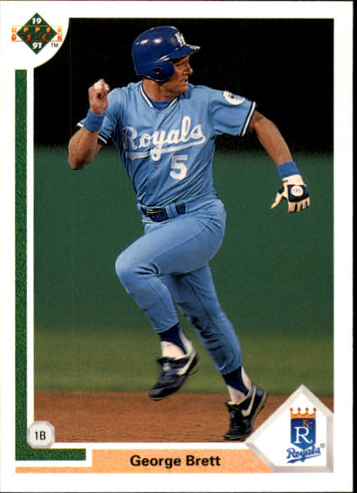1991 Upper Deck #525 George Brett