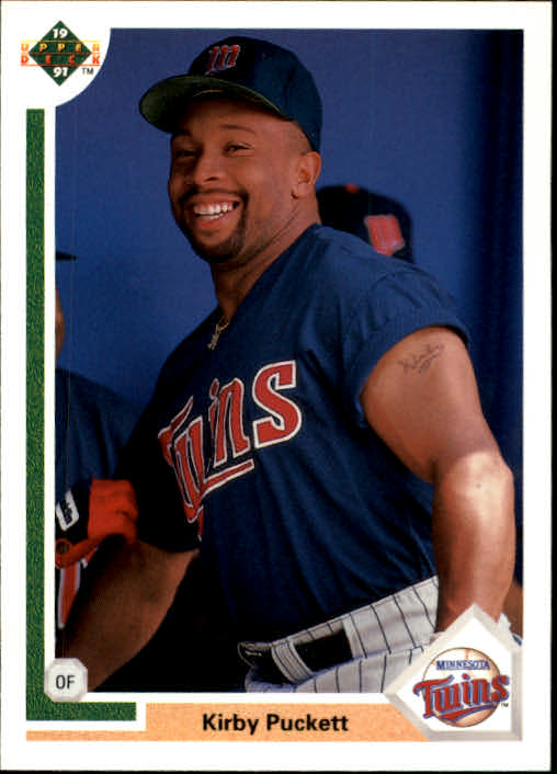 1991 Upper Deck #544 Kirby Puckett