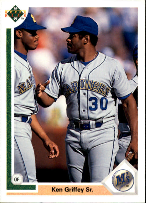 1991 Upper Deck #572 Ken Griffey Sr./Jr.