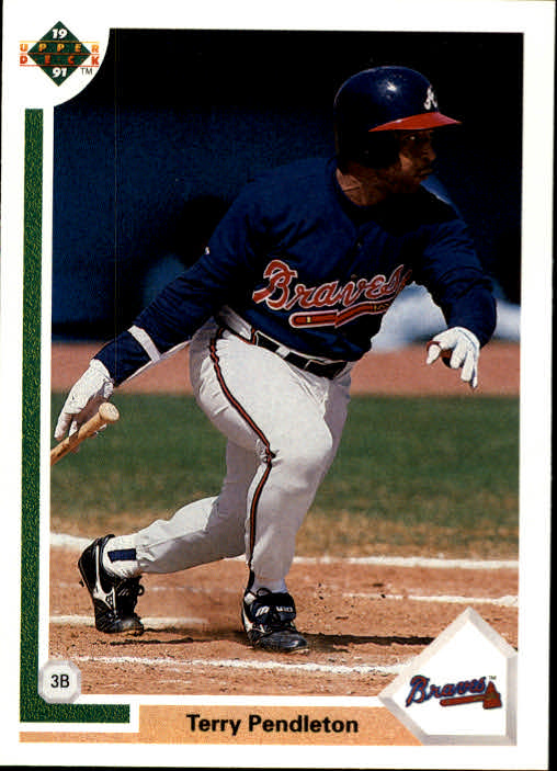 1991 Upper Deck #708 Terry Pendleton