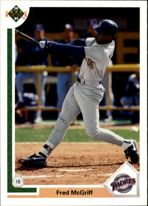 1991 Upper Deck #775 Fred McGriff