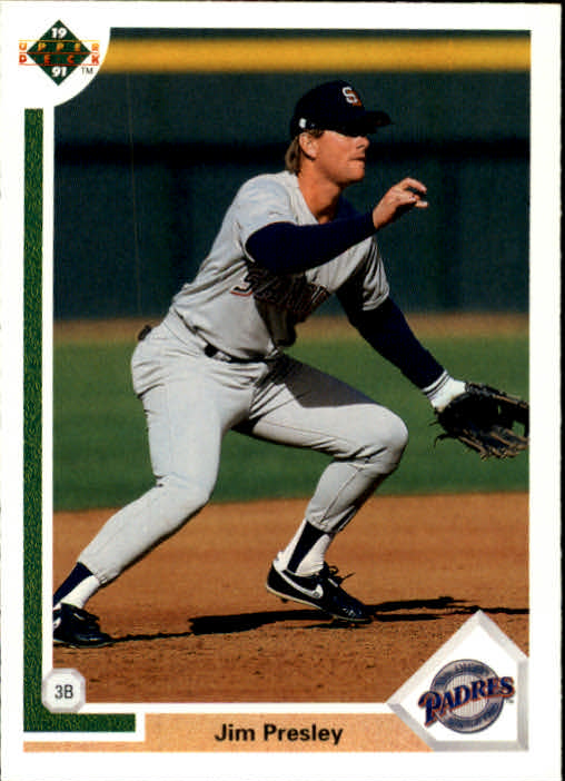 1991 Upper Deck #791 Jim Presley