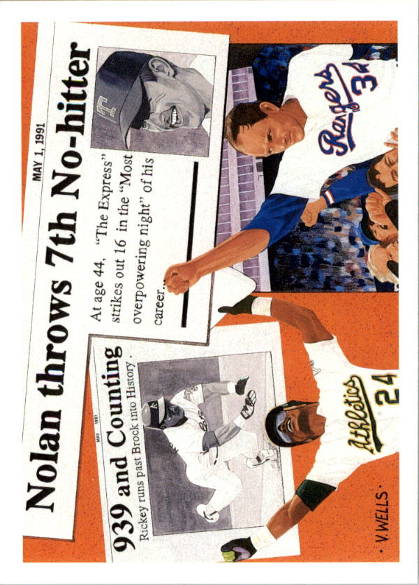 1991 Upper Deck #SP2 N.Ryan/R.Henderson