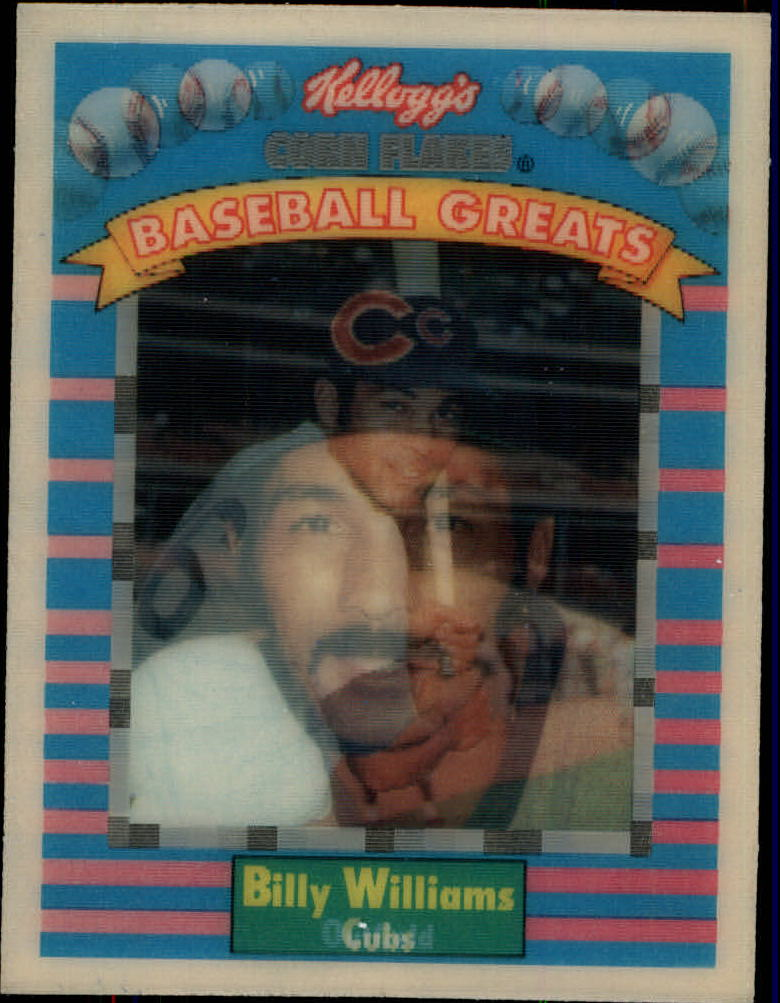 1991 Kellogg's 3D #9 Billy Williams